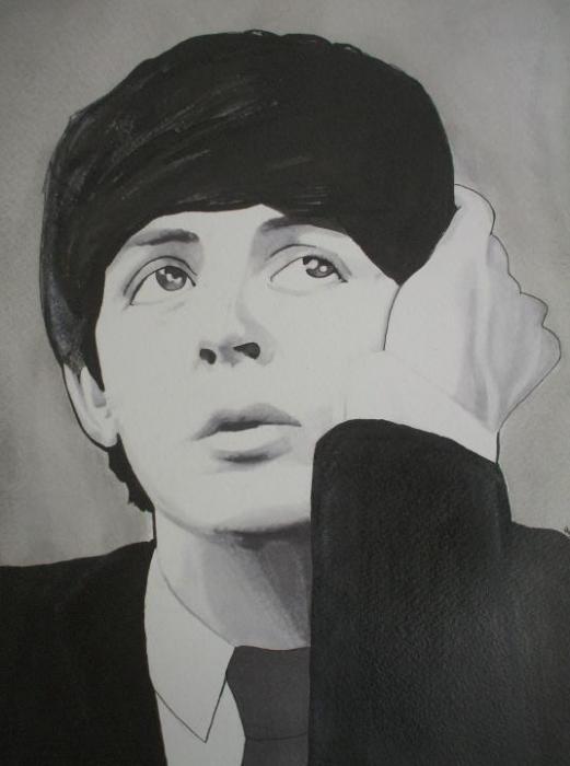 Paul McCartney by Markbickley